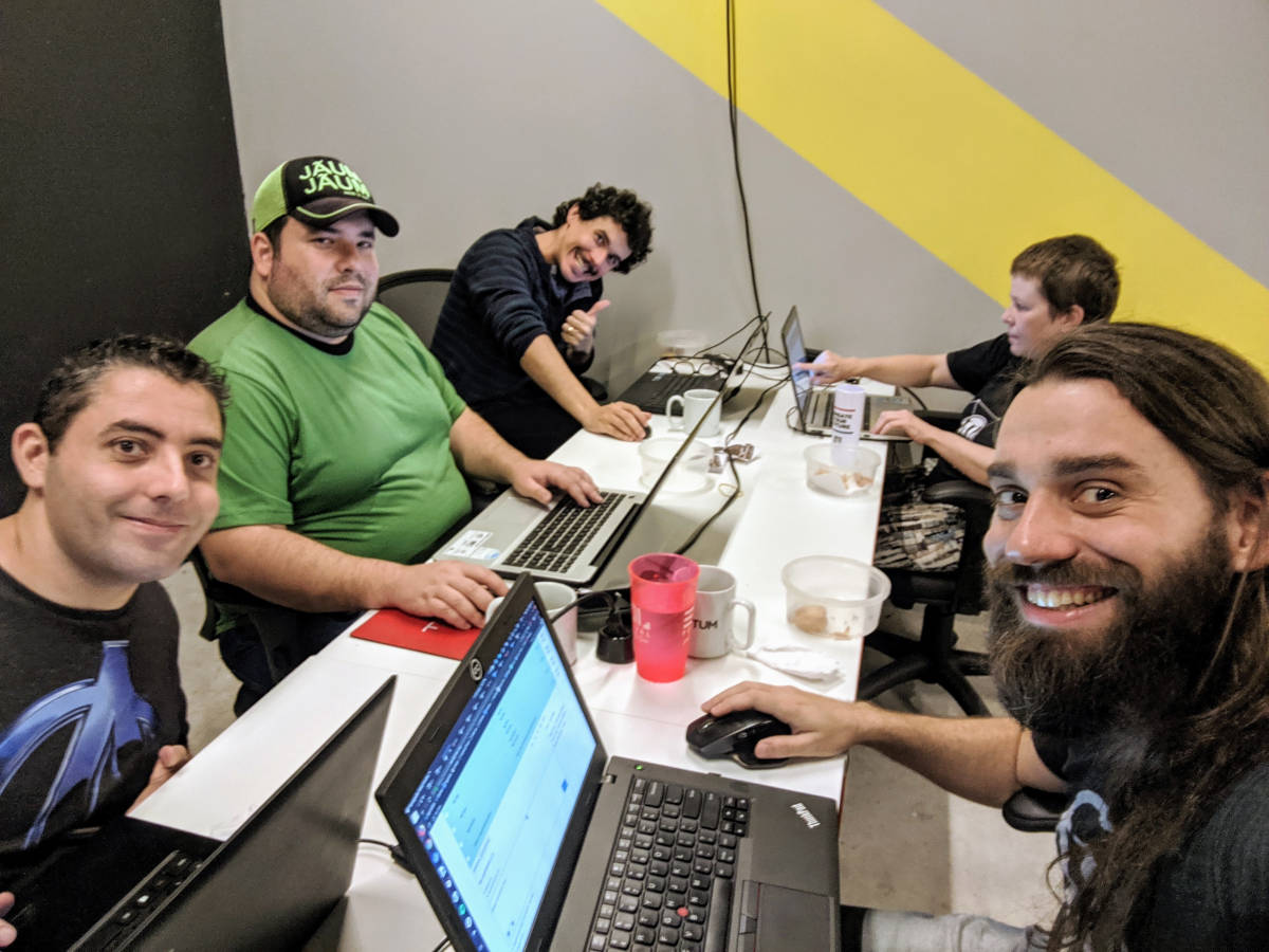 Foto do WordPress Translation Day 4 em Curitiba